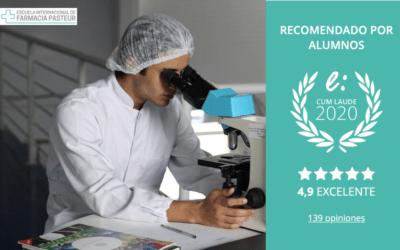 Escuela Farmacia Pasteur premiada con el Sello Cum Laude 2020