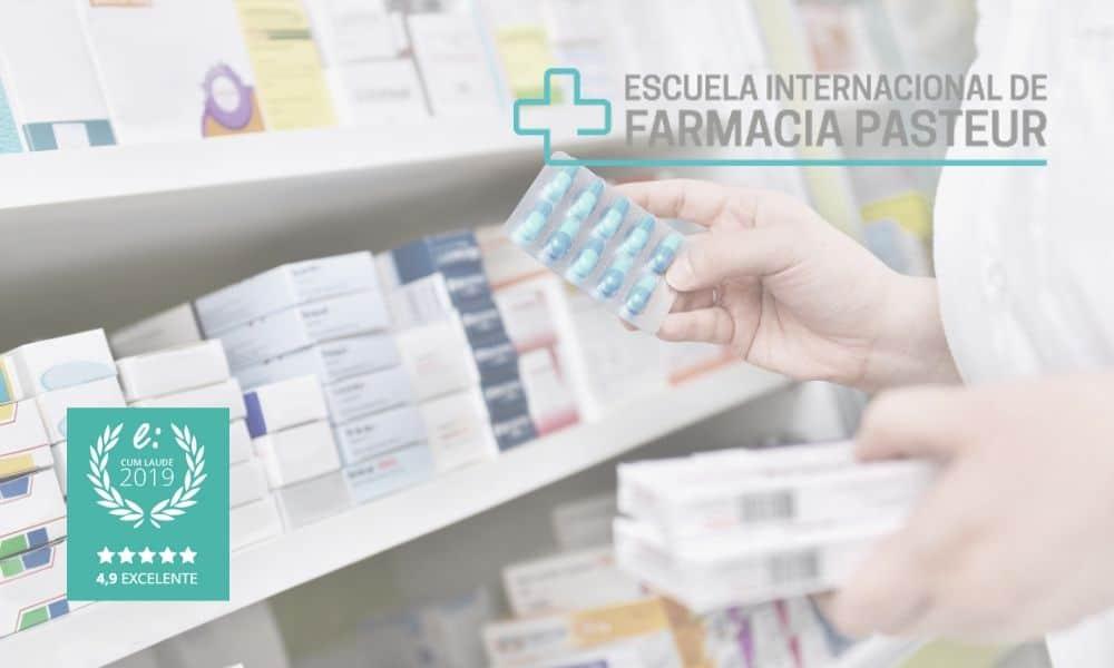 Las opiniones de Escuela de Farmacia Pasteur le otorgan el Sello Cum Laude 2019