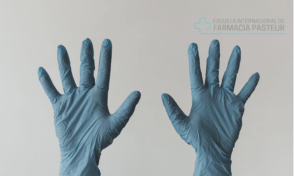 tipos de guantes sanitarios